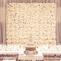 free shipping 1pc 40x60cm Silk Rose Flower Champagne Artificial Flower for Wedding Decoration Flower Wall Wedding Backdrop Decor