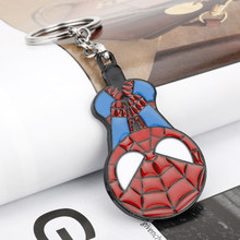 dongsheng The Avengers Infinity War Superhero Spider-Man keychain Movie Ornaments Metal Key Ring Car Key Chain -50(China)