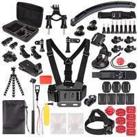 Sports Action Camera Accessory Kit for GoPro Hero6 5 Black, Hero 5 4 3 DBPOWER,AKASO,APEMAN,SJCAM,XIAO YI Sport Camera