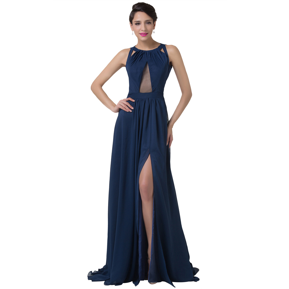 Compare Prices on Navy Blue Evening Dresses- Online Shopping/Buy ...