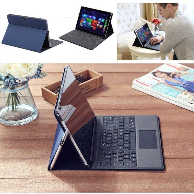 Funda para Microsoft Surface Pro 4 Pro 5 Funda de cuero PU con soporte protector Compatible con teclado Original de superficie