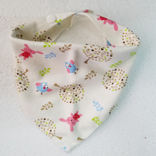 Купить с кэшбэком LANMUSUNG waterproof baby bibs burp cloth organic cotton babys bib  for baby feeding  babador bandana