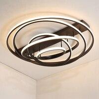 Новое поступление светодио дный светодиодные люстры для гостиной спальни Роскошная современная люстра освещение lampadario светодио дный свет