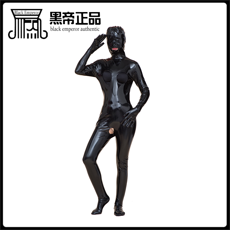 все цены на New Gumming clothing, black, tight, exposed, bare mouth, sexy high quality, black emperor sex toys,Customizable styles and sizes онлайн