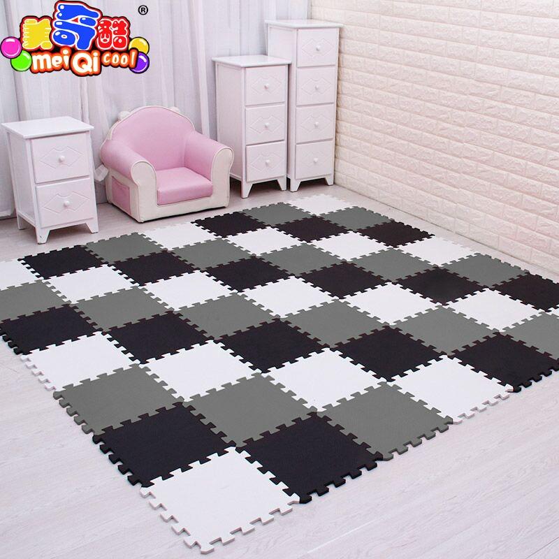 Mei qi kühlen baby EVA Schaum Spielen Puzzle Matte für kinder Verriegelung Übung Fliesen Boden Teppich Teppich, jeder 30X30cm18 24/30 stücke playmat