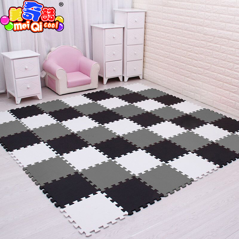 mei qi cool baby <font><b>EVA</b></font> Foam Play <font><b>Puzzle</b></font> Mat for kids Interlocking Exercise Tiles Floor Carpet Rug,Each 30X30cm18 24/ 30pcs playmat