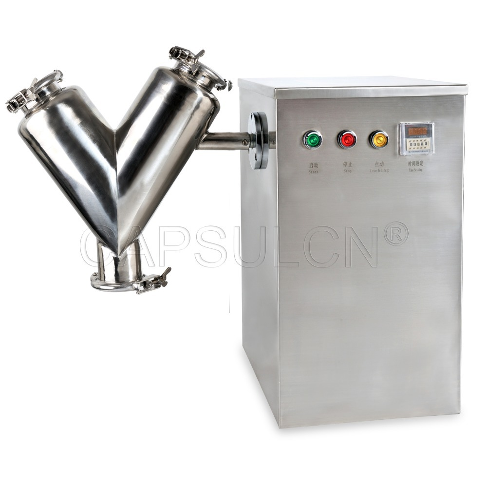 110V/220V V Type Powder Mixer Mixing Machine 5.6L 5kg VH-14 Type  цены