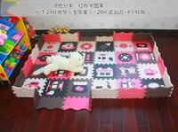 48pcs Set EVA Foam Play Mat Baby Puzzle Floor Mats Fences Carpet Pad Toys For Children