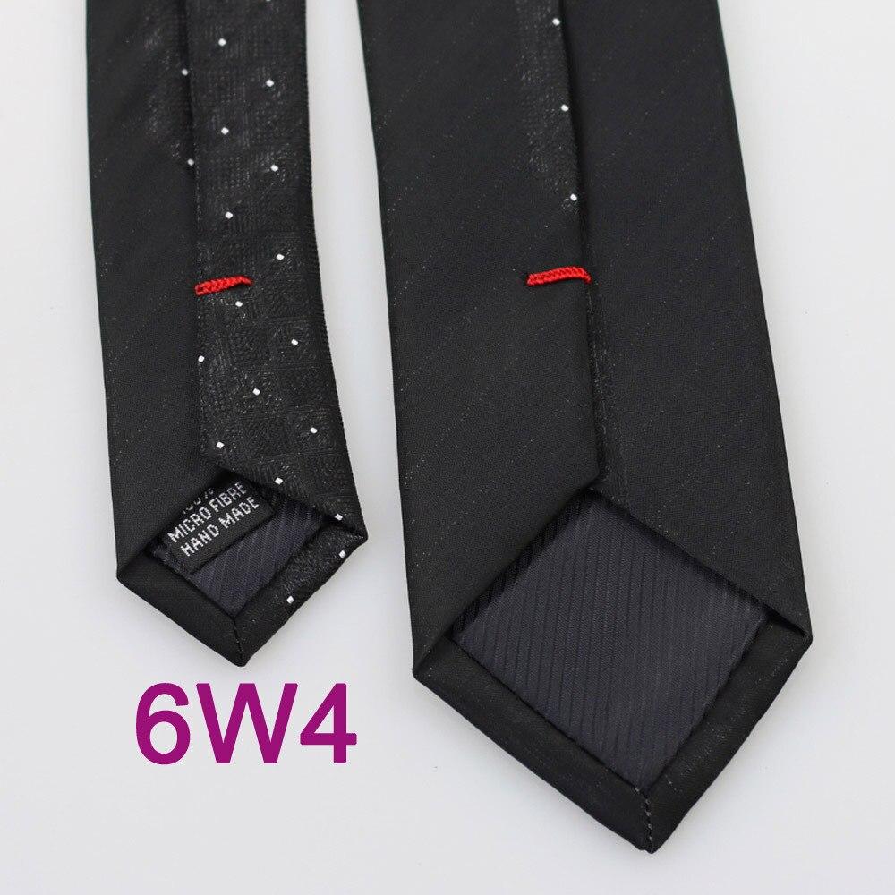 YIBEI Coachella галстуки черный мужской галстук тонкая граница серебряные маленькие точки клетчатые Галстуки узкие микрофибры блестящие Gravata Masculina