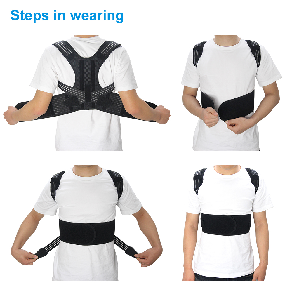 Aptoco Posture Corrector Belt to Correct the Humpback and Improve the Correct Posture Helps to Relieve Shoulder and Back Pain 1