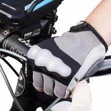 MEETLOCKS Bike Gloves For Men Shockproof Breathable Silicone Cycling Gloves Half Finger Sports Gloves Color Gray Size L-XL-XXL цена