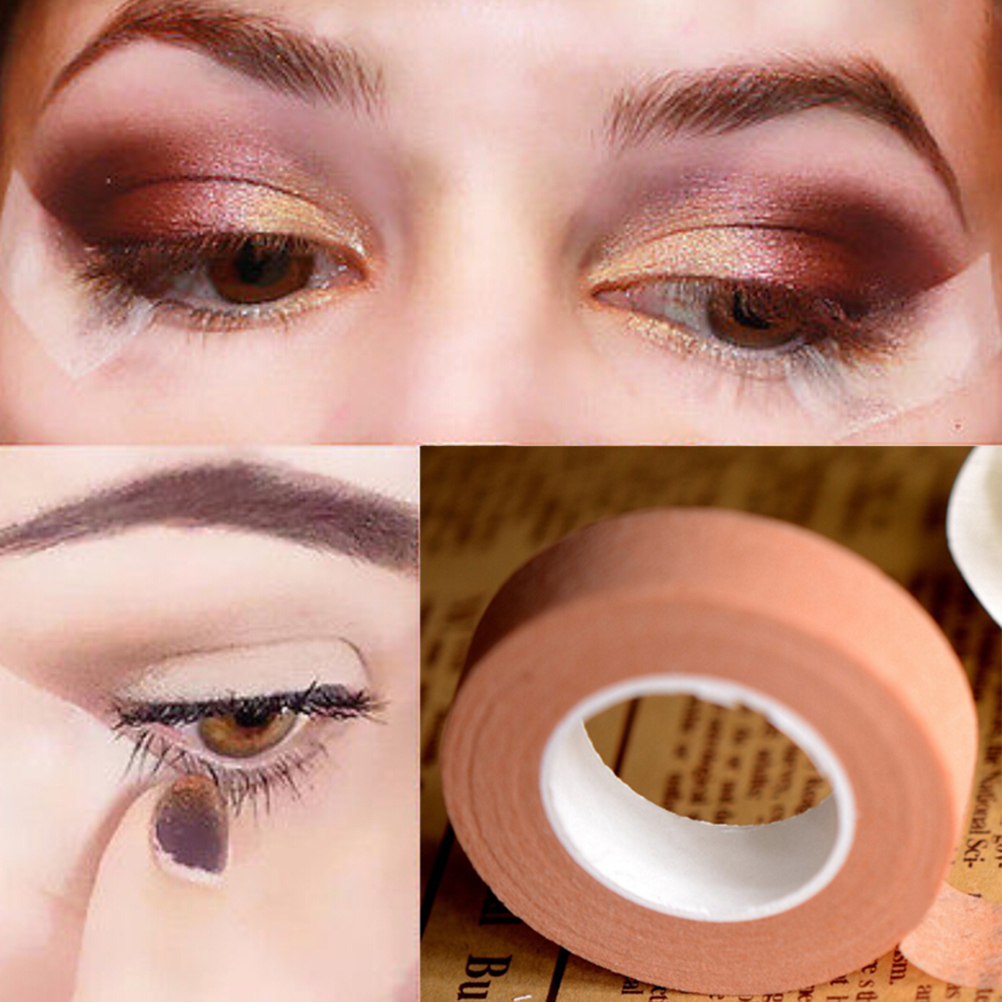 Double Eyelid Tape Natural Invisible Eyelid Single-Side Adhesive Eyelift Tapes Sticker Makeup Tool For Women 1 Roll