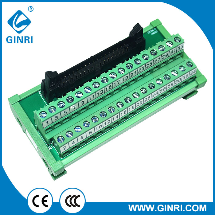 IDC10 10-Pin Connector Signals Breakout Board Screw terminals