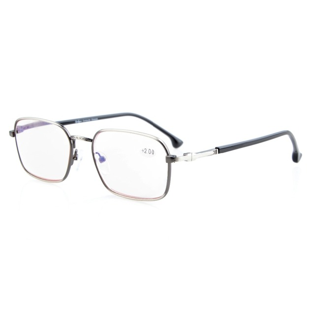 ba848315eac5 CG1617 Eyekepper Retro Spring Hinges Amber Tinted Lenses Computer Readers  Glasses Anti Harmful Glare   Anti UV Blue Light