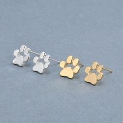 Cute cat and dog pow stud earrings ear jewelry earrings for women fashion statement jewelry gifts.jpg 250x250