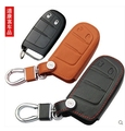 Good quality! Special car key case for Fiat Freemont 2014-2012 durable genuine leather key cover for Freemont 2013,Free shipping