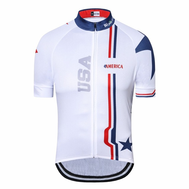Mens Cycling Jersey Short Sleeve Summer Ropa Ciclismo Bike Jersey 2018  Maillot Shirt Bicycle Wear Racing Tops MTB Clothing White b1b9d969a