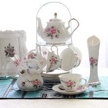 Роскошные кофейные чашки набор из костяного фарфора британский