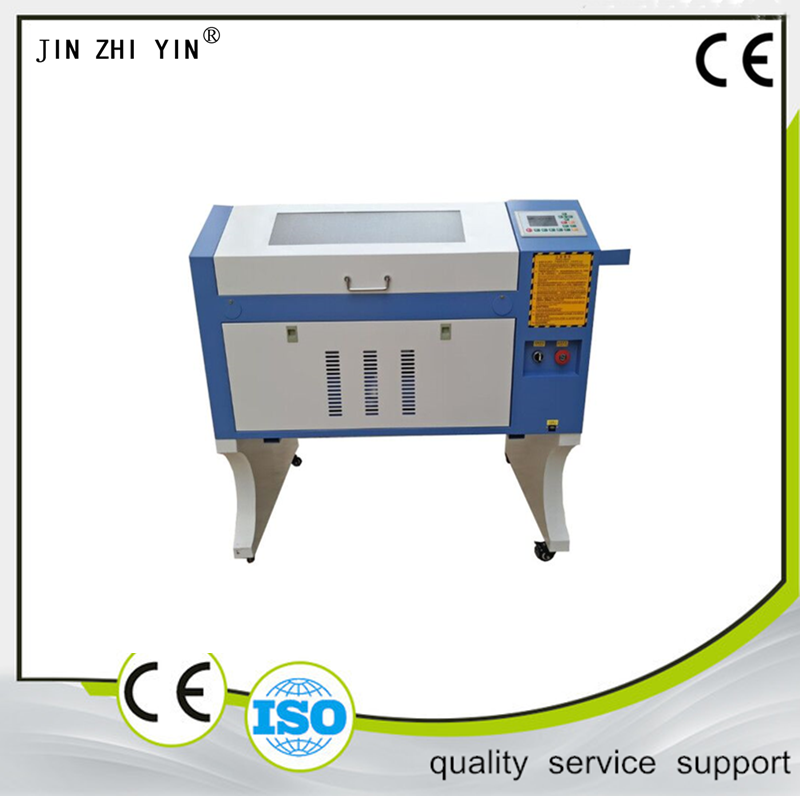 80W / 100W EFR / RECI Laser Tube , Ruida CO2 Laser Engraving Cutting Machine 4060, Cnc Plywood Laser Cutting Machine