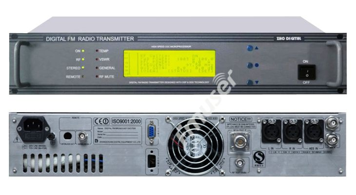 CZH618F 30 Вт FM радио вещания передатчика PLL стерео передатчик небольшой fm-радио Staion оборудование 87-108 мГц