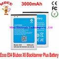 3000 mAh moda E04 Bluboo X6 Blackbanner más batería batería batería Batterij acumulador AKKU PIL