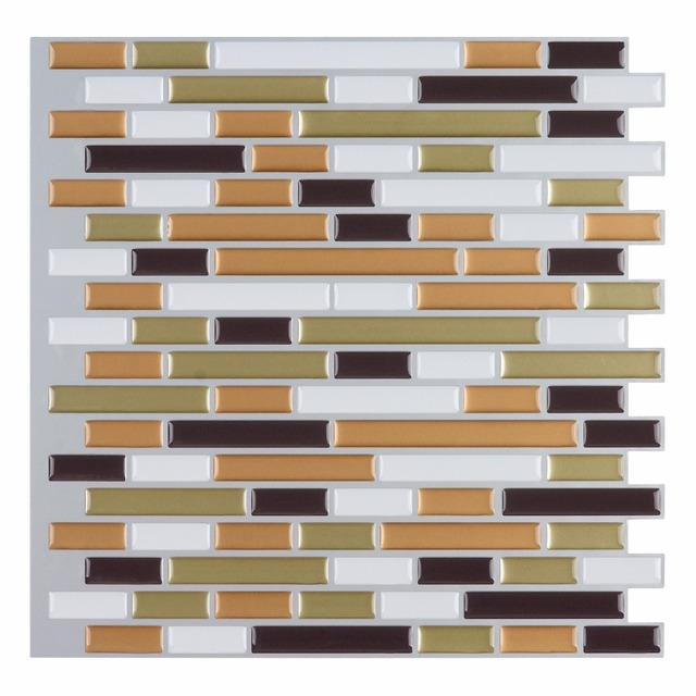 10 L And Stick Backsplash Tile Wall Sticker Vinyl Covering 12 X