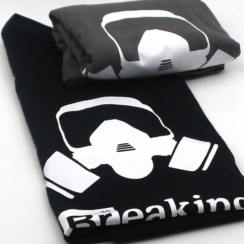 Coolmind 100% Katoen Mannen Breaking Bad T-shirt Mannelijke Zomer Losse Grappige T-shirt Tee Shirt Mannen U Print Heisenberg T-shirt