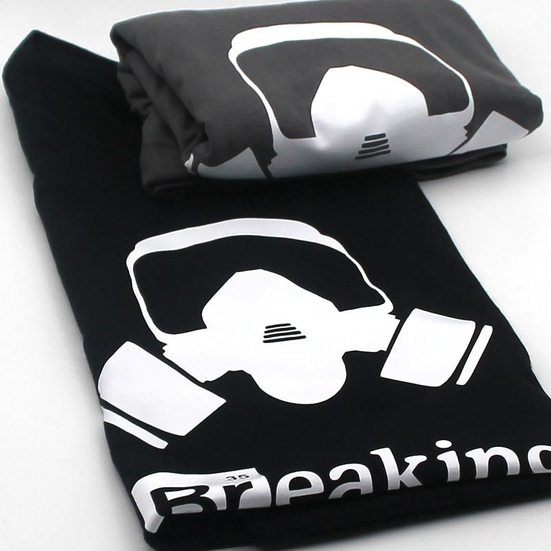 Top Quality Cotton heisenberg funny men t shirt casual short sleeve breaking bad print mens T