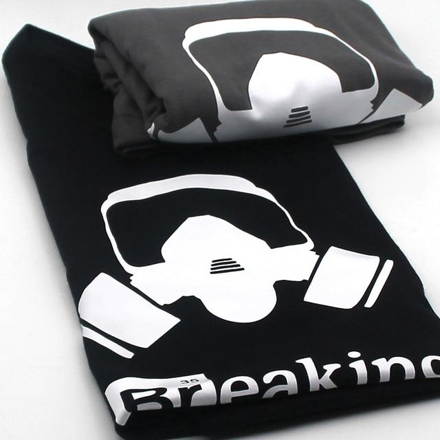 Top Quality Cotton heisenberg funny men t shirt casual short sleeve breaking bad print mens T-shirt Fashion cool T shirt for men 4