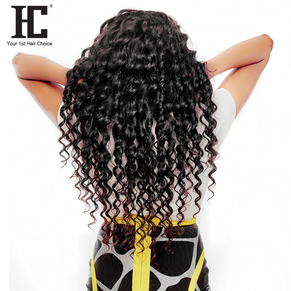 HC Hair Company Brazilian Loose Wave Hair Weave Bundles One Piece 100% Remy Hair Weaving Natural Color Human Hair Extensions