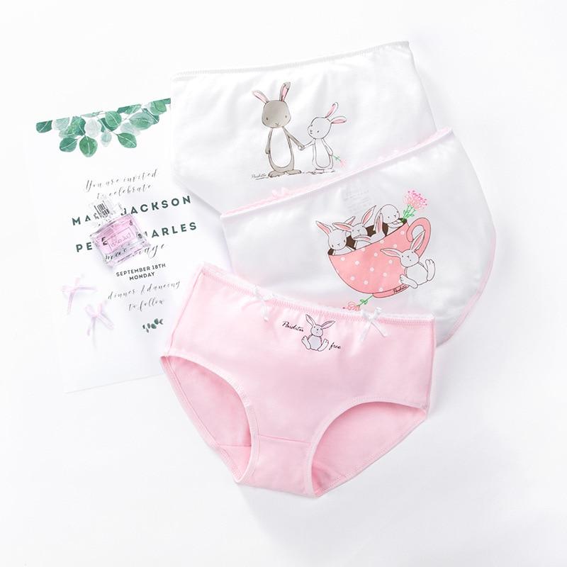2019 Girl's Briefs Children's Underwear Plain Cotton Pantalons Medium And Old Children's Shorts Girls' And Children's Shorts