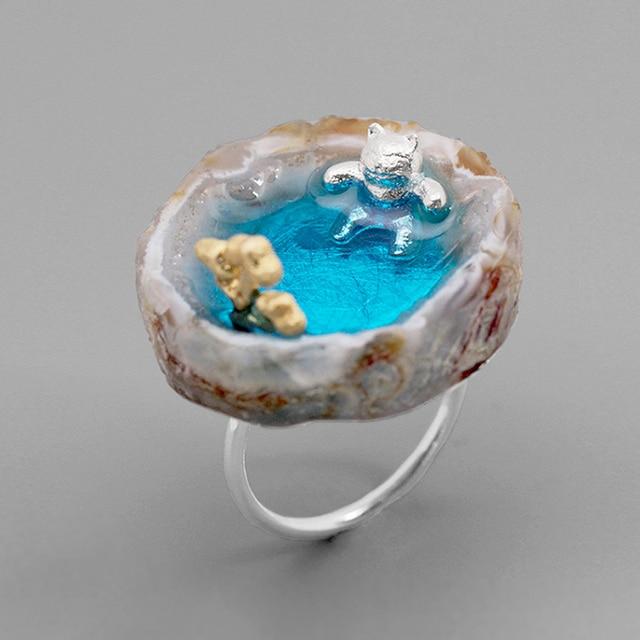 Labradorite Women Fine Jewelry Ring4