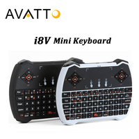 Genuine Mini I28 I8 V 2 4G Wireless Keyboard Touchpad Handheld Gaming Air Mouse For