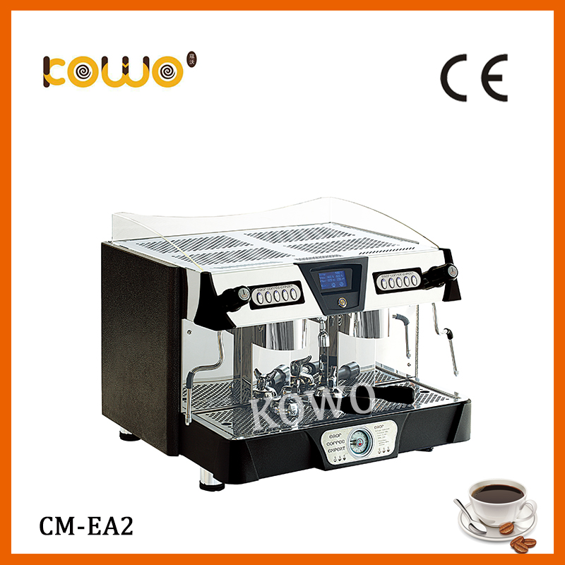 professional 5-10 cups stainless steel electric espresso coffee maker semi automatic ce italian coffee machine with milk frother professional ce stainless steel electric espresso coffee maker semi automatic 5 10 cups italian coffee machine with milk frother