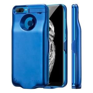 Image 2 - 6000 mAh Batterij Case Voor Huawei Honor 9 Lite Charger Case Silm schokbestendig power bank Charger Back Cover powerbank Gevallen capa