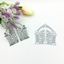 Julyarts Arch Gate Die Metal Cutting For DIY Scrapbooking Stencil Paper Embossing Card Making Craft Cut Troqueles