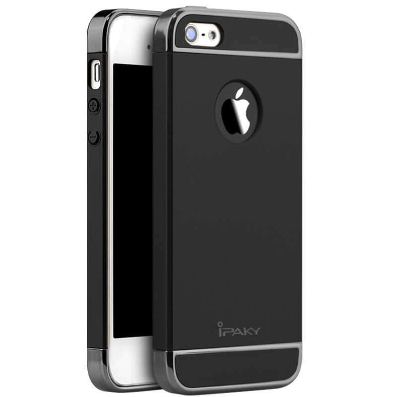Original Ipaky Brand Classic Iphone SE For Iphone 5S 3 IN 1 Design Luxury Cover In Stock