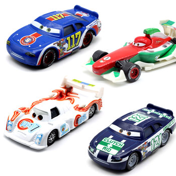 23 Style Disney Pixar Racing Cars 2 3 Toys Lightnig McQueen Mater Ramirez 1:55 Diecast Metal Alloy Toys Model Figures Boys image