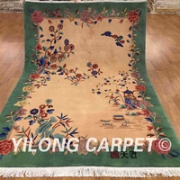 YILONG 5.5'x8' vintage oriental handknotted wool rug Chinese art decoration carpet (TJ001S 5.5x8)