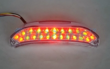 цена на CLEAR Lens LED Motorcycle Tail Light Integrated turn signal For HONDA CBR 600RR 2013-2014