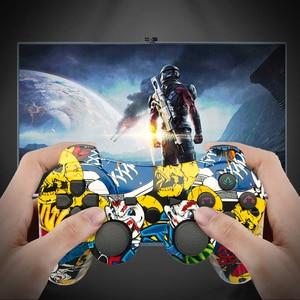 Image 5 - K ISHAKO mutil colored 무선 블루투스 게임 패드 ps3 Pro 컨트롤러 게임 패드 Dualshock 조이스틱 Plastation3 콘솔 용