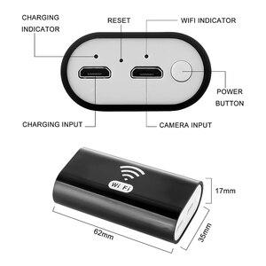 Image 5 - 無線 LAN 内視鏡ボアスコープアンドロイド Ios Iphone 内視鏡ミニ防水カメラ 6LED 8 ミリメートルハードケーブルワイヤレス USB 内視鏡