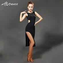 96a53fd3a0 Nueva marca 2 color v-back Latino traje mujeres Tango Samba traje Salón  danza dancewear