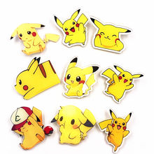 1 Pcs Acrilico Distintivi e Simboli Pokemon per borsa di Tela cartone animato decorazione di Brooche pin studente Regalo bello Anime Pocket Monsters(China)