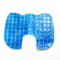 U Style Cooling Car Seat Cushions Massage Silicone Breathable Silica Gel Auto Car Seat Covers For