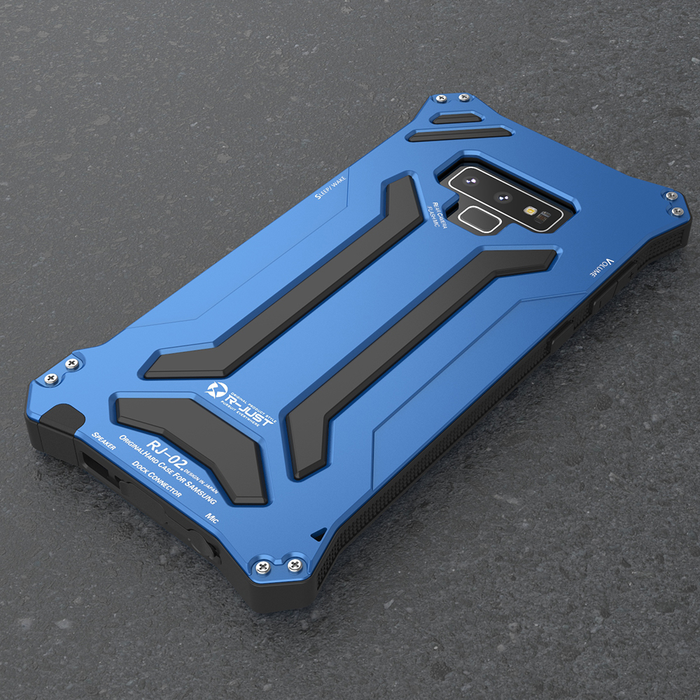 """Противоударный грязеотталкивающий Алюминиевый Чехол Gundam Armor чехол """"Железный человек"""" для samsung Galaxy Note 9 чехол для телефона защитный чехол кожа сумка"""