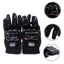 Touch Screen Motocross Racing Motorcycle Cycling Protective Full Finger Gloves