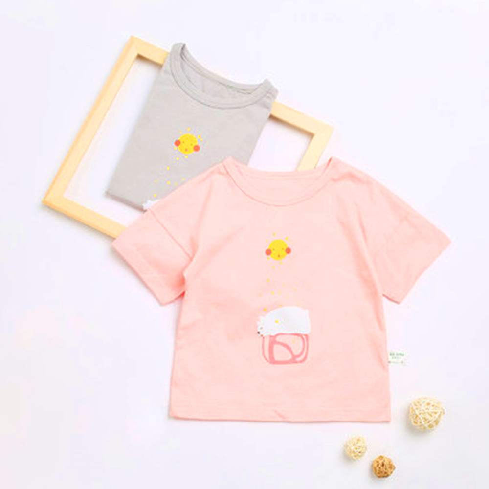 Mother & Kids Clothing Sets Summer New Kids Cartoon Printed Hort Sleeve Shirt Cotton Short Sleeve Children T-shirt To Adopt Advanced Technology
