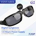 VENYASOL Солнцезащитные Очки Камера HD Spy 720 P Поляризованных Линз для Открытый Действие Спорт Видеокамера Скрытые Мини Камеры Очки