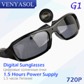 VENYASOL Sunglasses Camera HD Spy 720P Polarized Lens for Outdoor Action Sport Video Hidden Mini Camera Glasses